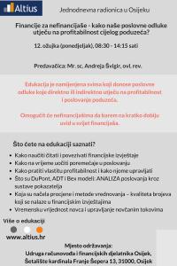 Financije za nefinancijaše - Osijek
