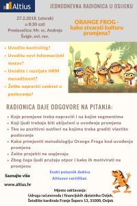 Orange Frog - Osijek